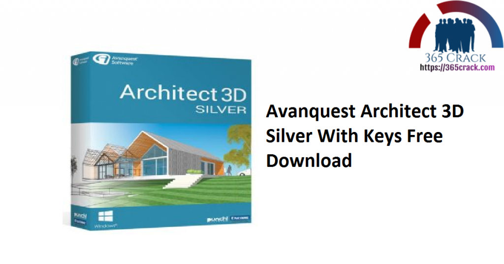 Avanquest Architect 3D Silver With Keys Free Download