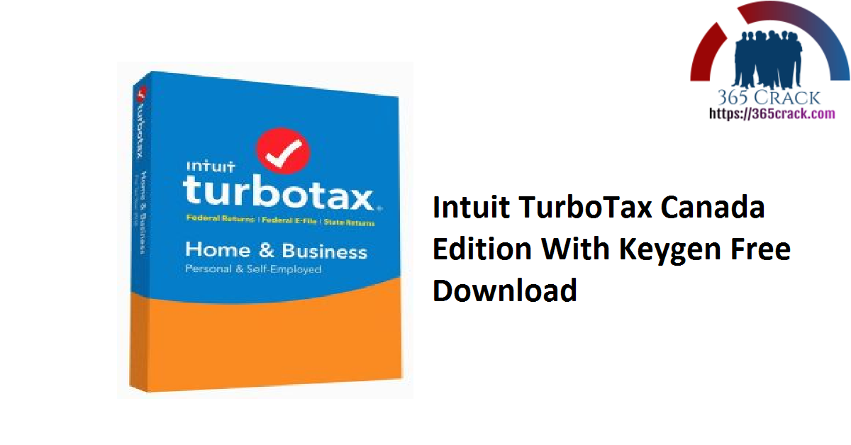 Intuit TurboTax 2020 Canada Edition With Keygen Download