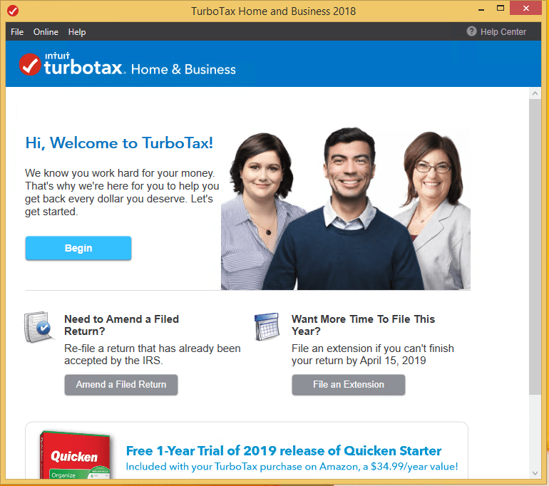 Intuit TurboTax Home & Business Full Crack