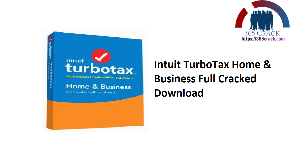 Intuit TurboTax Home & Business Full Cracked Download
