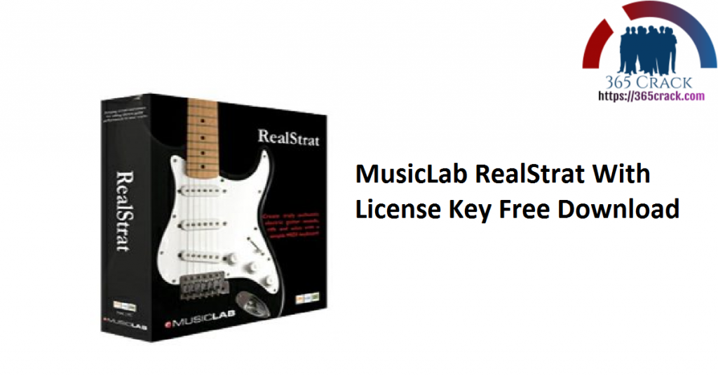 MusicLab RealStrat With License Key Free Download