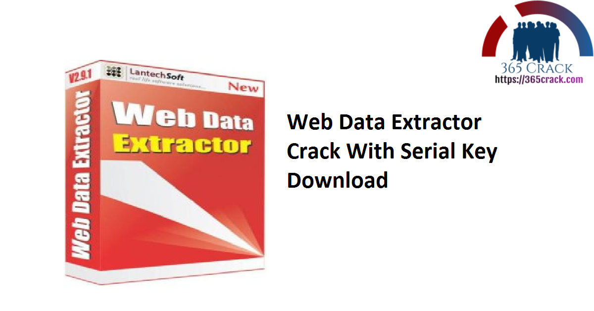 Web Data Extractor Crack With Serial Key Download