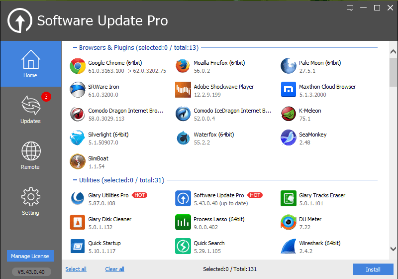 Glary Software Update Pro Crack