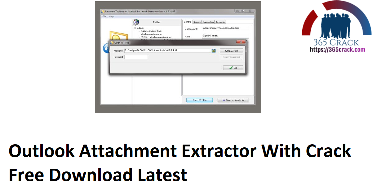 Outlook Attachment Extractor With Crack Free Download Latest