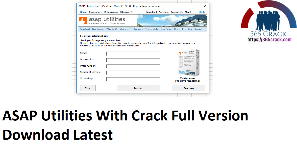 ASAP Utilities With Crack Full Version Download Latest