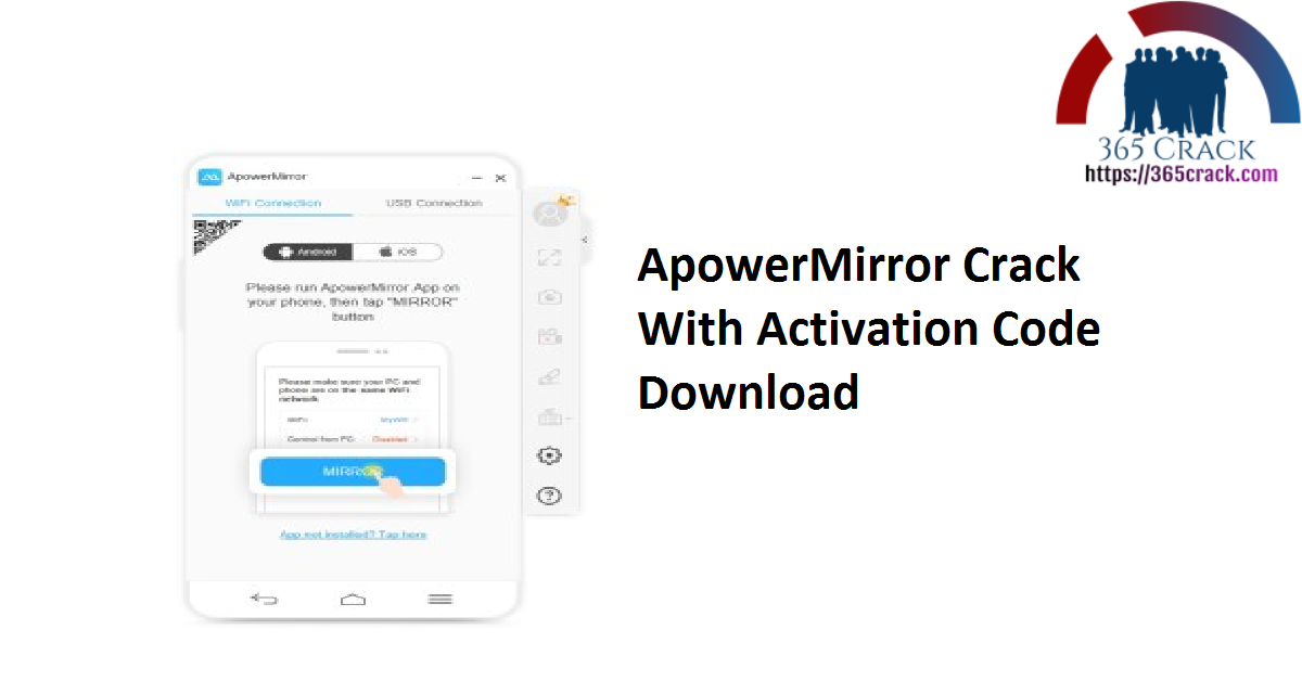 ApowerMirror Crack With Activation Code Download