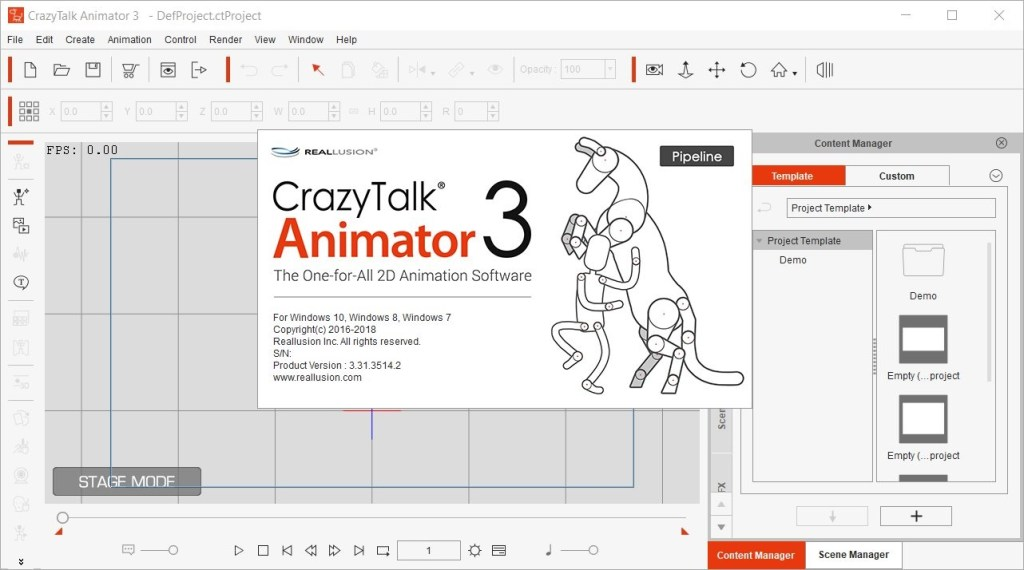 Reallusion CrazyTalk Animator Crack