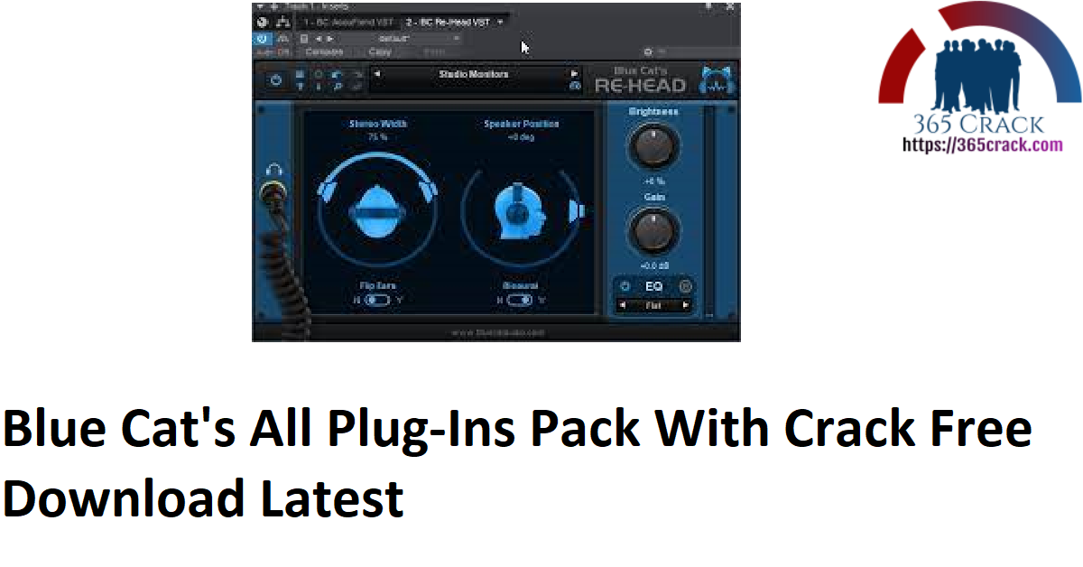 Blue Cat's All Plug-Ins Pack With Crack Free Download Latest