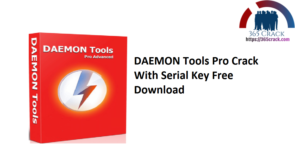 DAEMON Tools Pro Crack With Serial Key Free Download