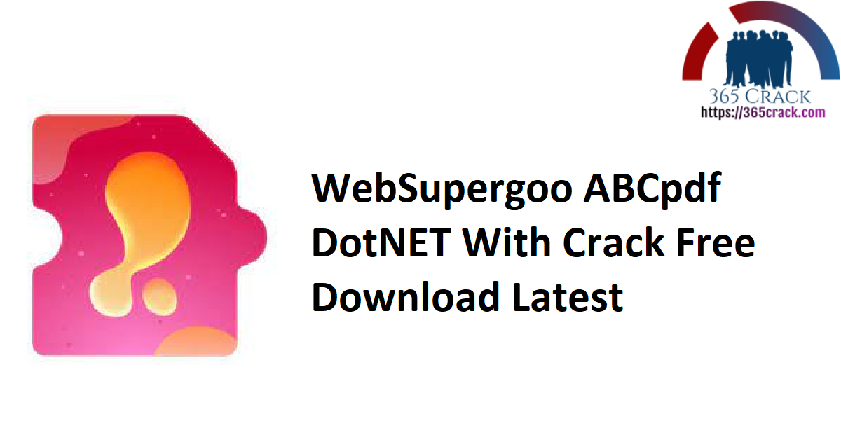 WebSupergoo ABCpdf DotNET With Crack Free Download Latest