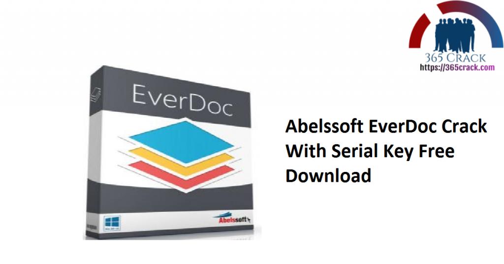 Abelssoft EverDoc Crack With Serial Key Free Download