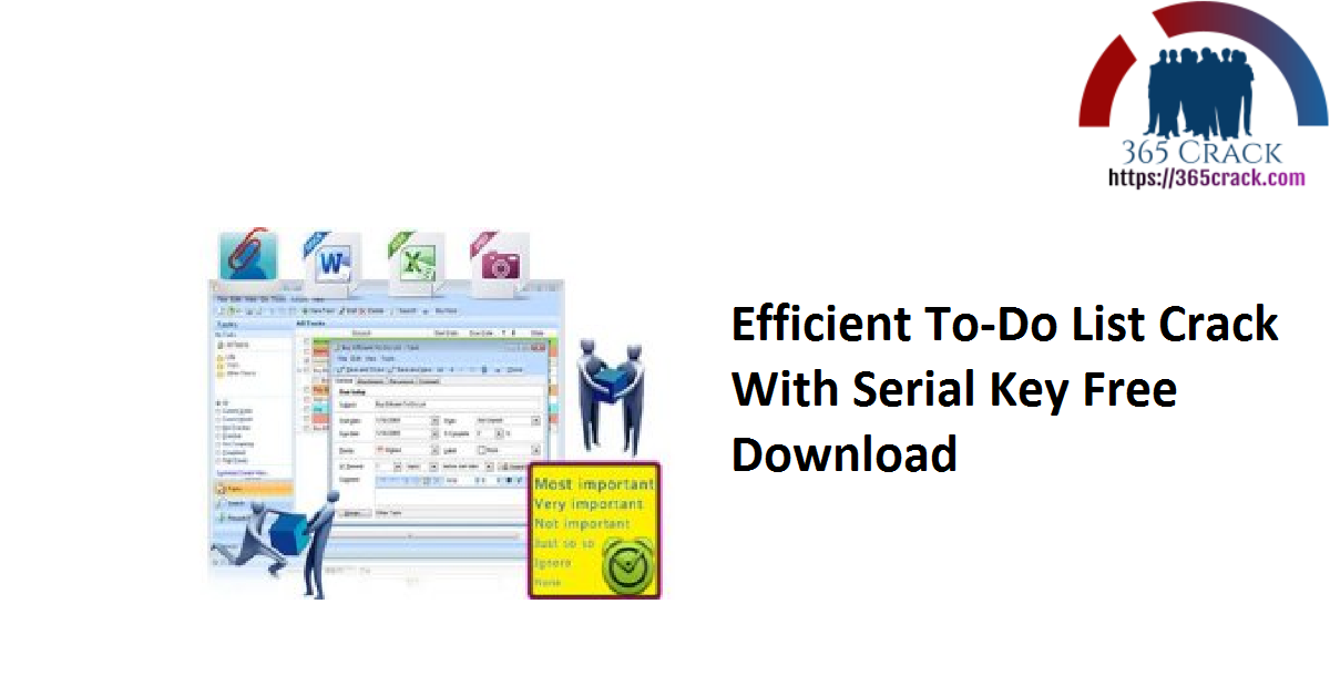 Efficient To-Do List Crack With Serial Key Free Download