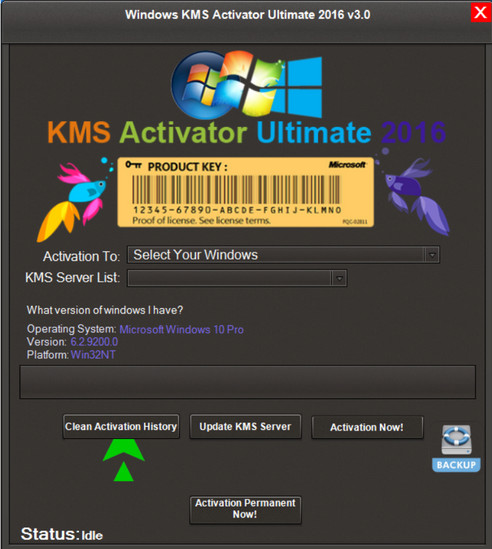 Windows KMS Activator Ultimate Crack With Serial Key Download (Latest)
