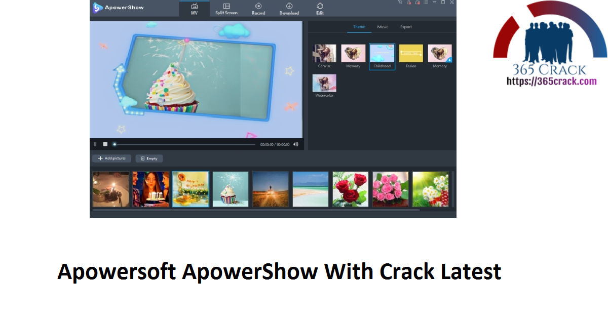 Apowersoft ApowerShow With Crack Latest