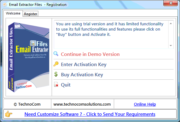 TechnoCom Email and Phone Extractor Files Crack With Activation Key Download (latest)