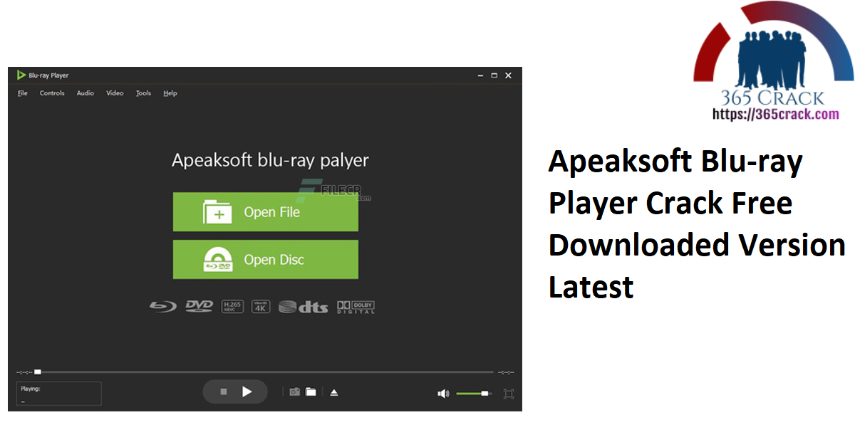 Apeaksoft Blu-ray Player Crack Free Downloaded Version Latest