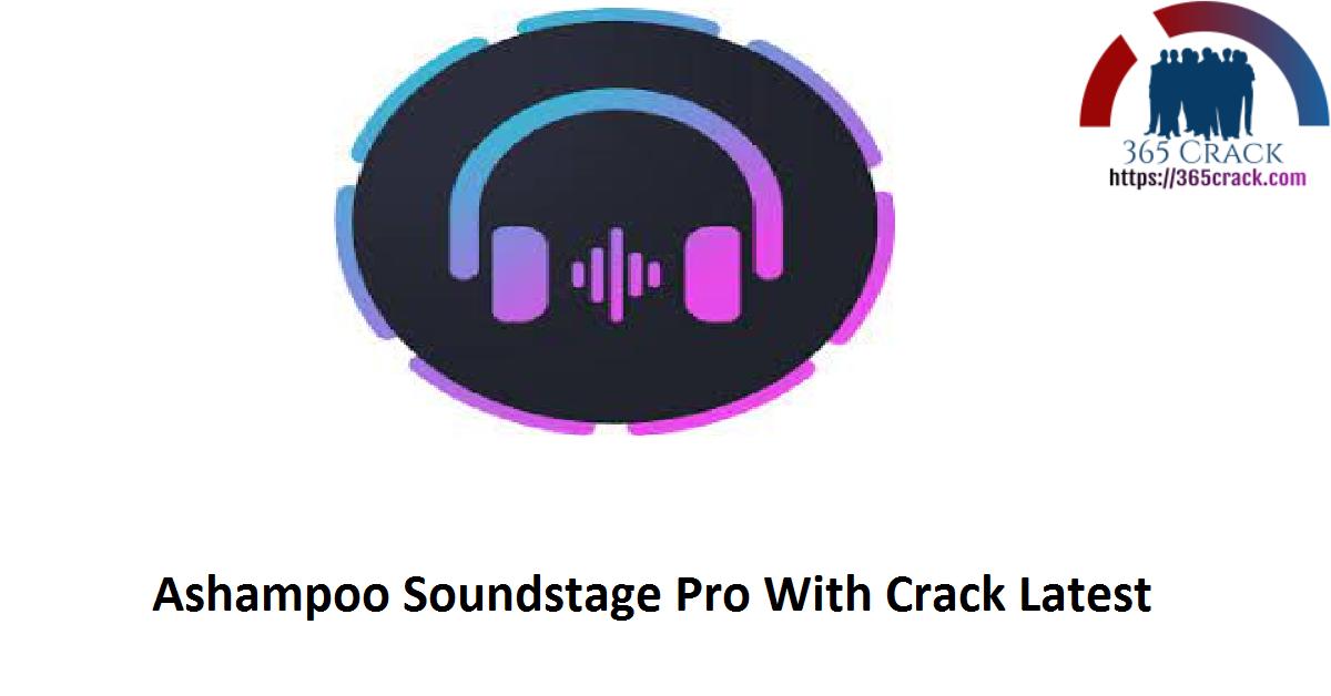 Ashampoo Soundstage Pro With Crack Latest