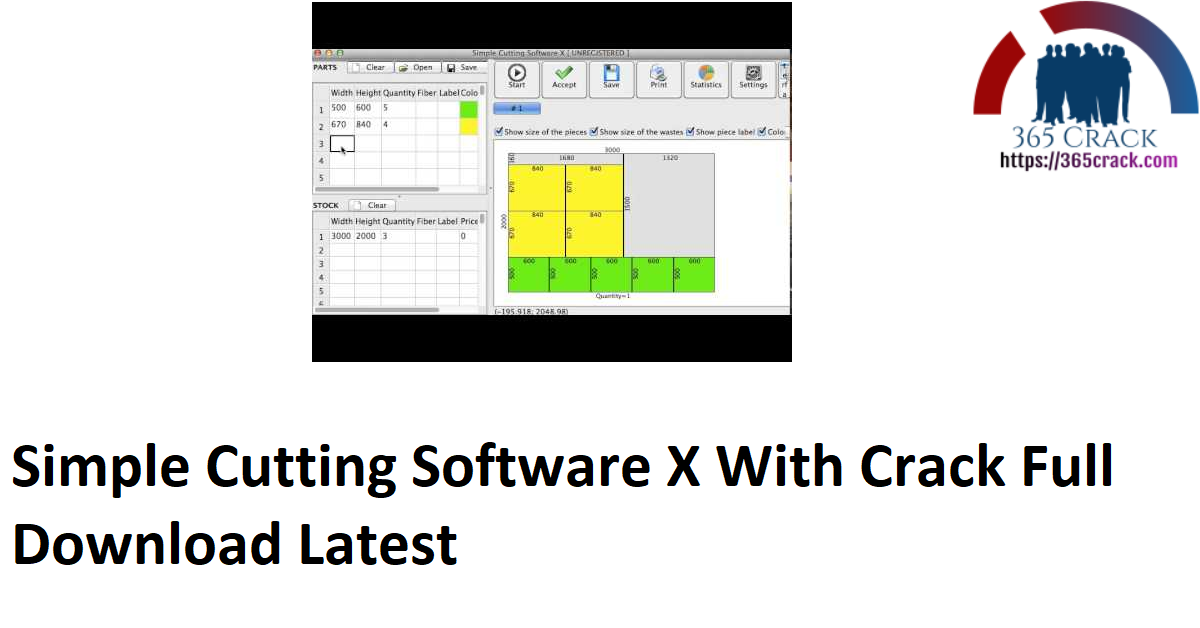 Simple Cutting Software X With Crack Full Download Latest