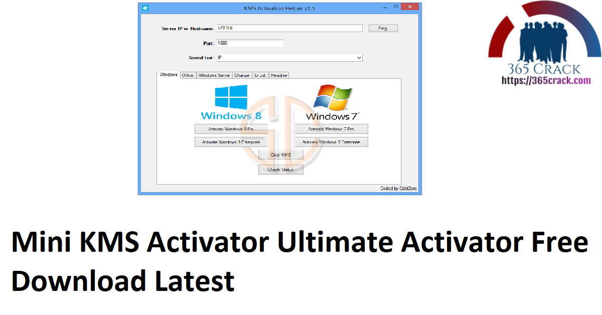 Mini KMS Activator Ultimate Activator Free Download Latest