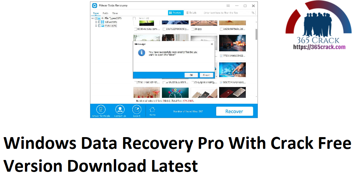 Windows Data Recovery Pro With Crack Free Version Download Latest