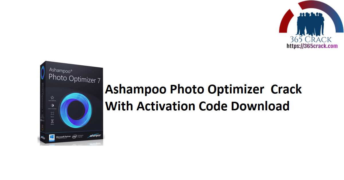 Ashampoo Photo Optimizer Crack With Activation Code Download