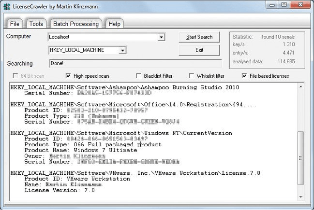LicenseCrawler Crack With Licence Key Download (Latest)