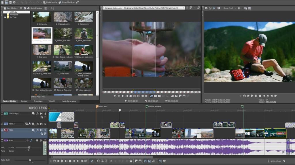 MAGIX VEGAS Movie Studio Platinum Crack With Activation key Download