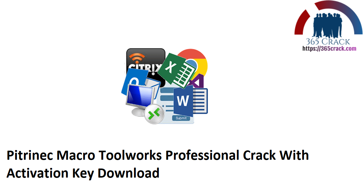 Pitrinec Macro Toolworks Professional Crack With Activation Key Download