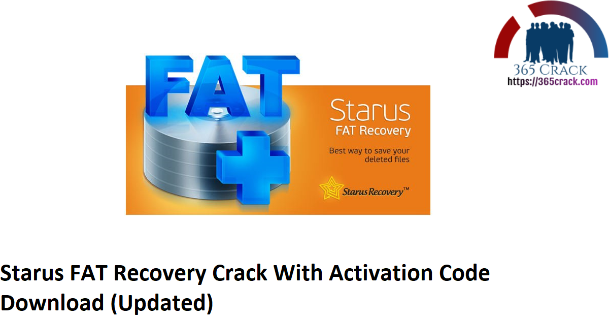 Starus FAT Recovery Crack With Activation Code Download (Updated)
