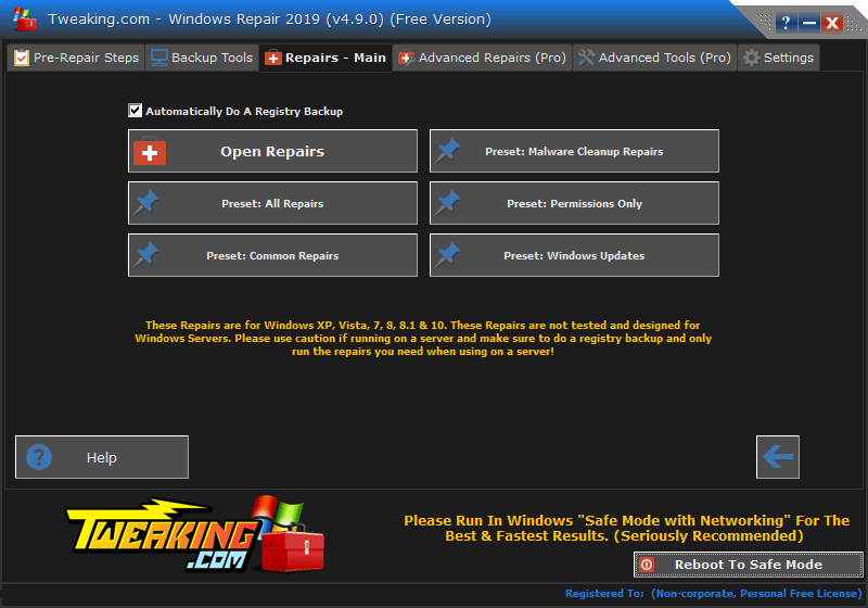 Windows Repair Unlocked Crack With Serial Key Download