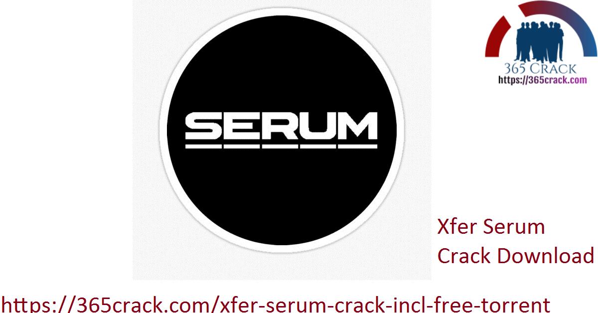 Xfer Serum Crack Download