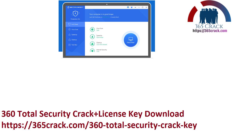360 Total Security Crack+License Key Download