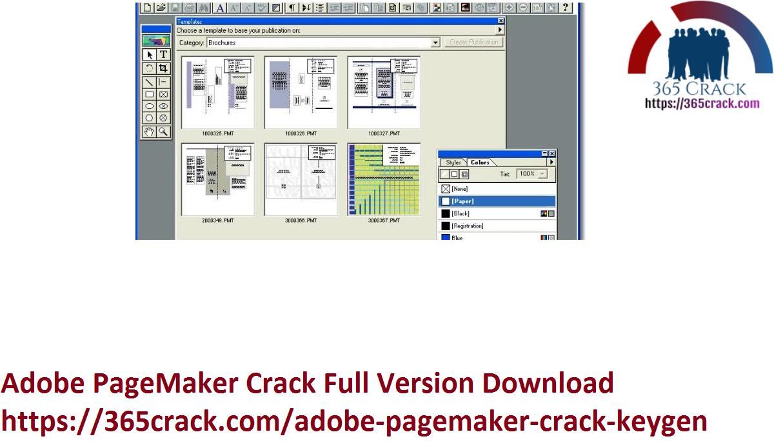 Adobe PageMaker Crack Full Version Download