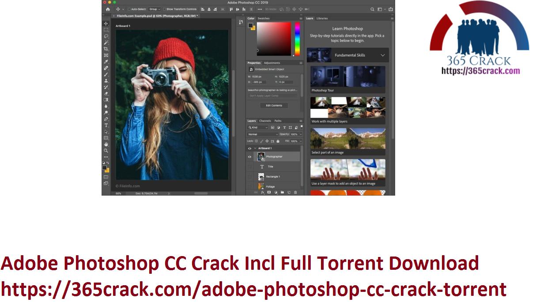 Adobe Photoshop CC Crack Incl Full Torrent Download
