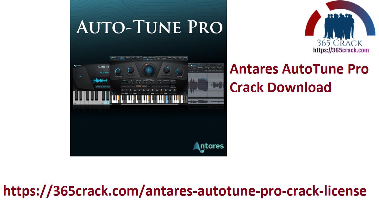Antares AutoTune Pro Crack Download