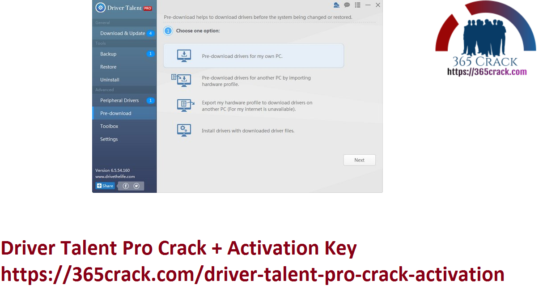 Driver Talent Pro Crack + Activation Key