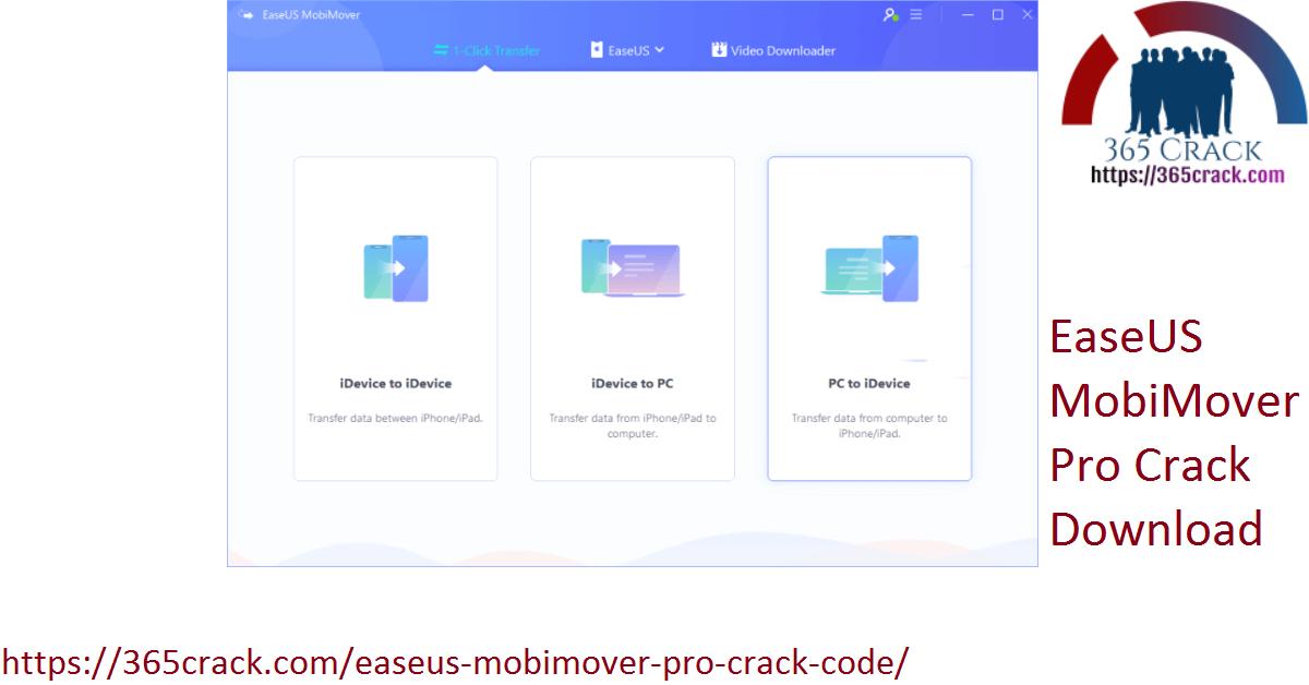 EaseUS MobiMover Pro Crack