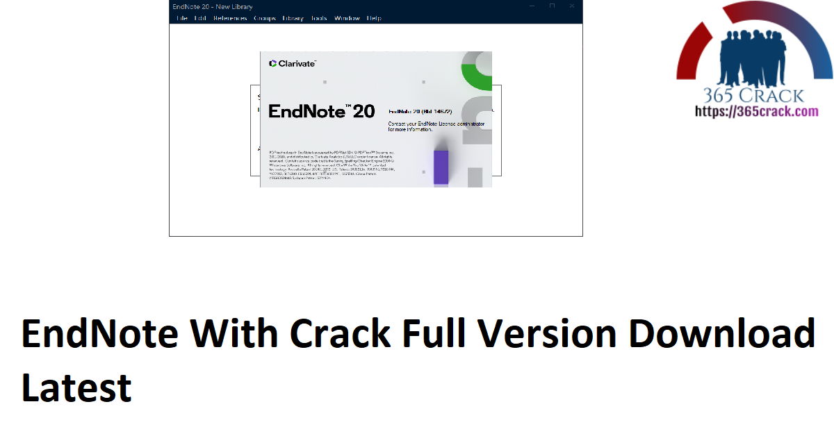 EndNote With Crack Full Version Download Latest