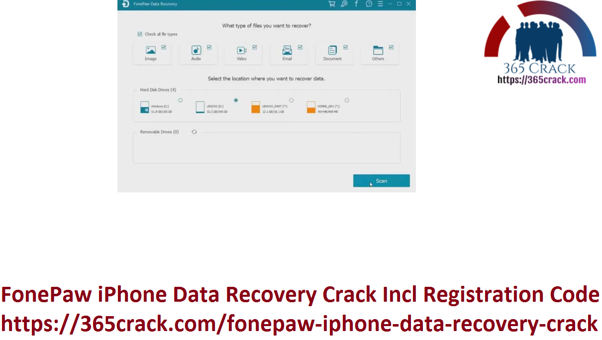 FonePaw iPhone Data Recovery Crack Incl Registration Code