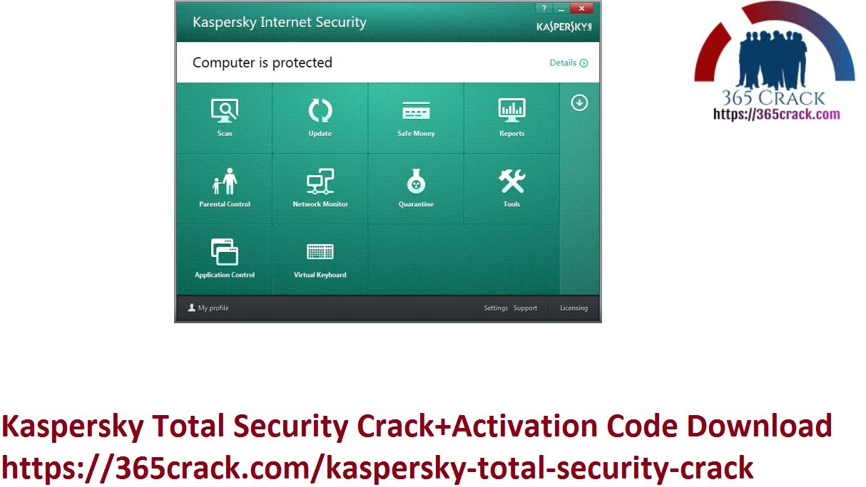 Kaspersky Total Security Crack+Activation Code Download