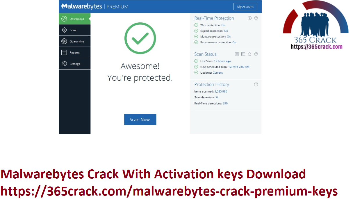 Malwarebytes Crack With Activation keys Download