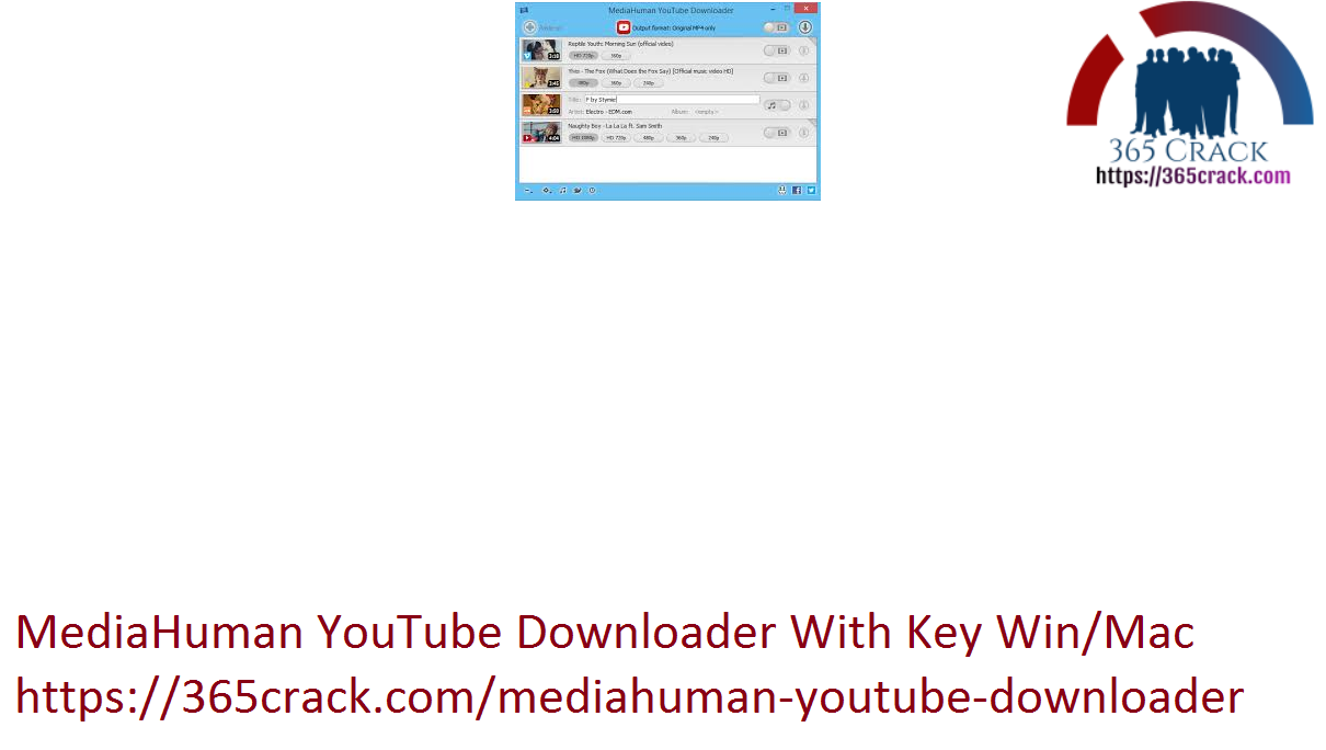 MediaHuman YouTube Downloader With Key