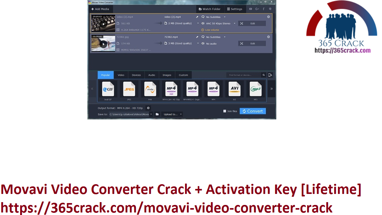 Movavi Video Converter Crack + Activation Key [Lifetime]