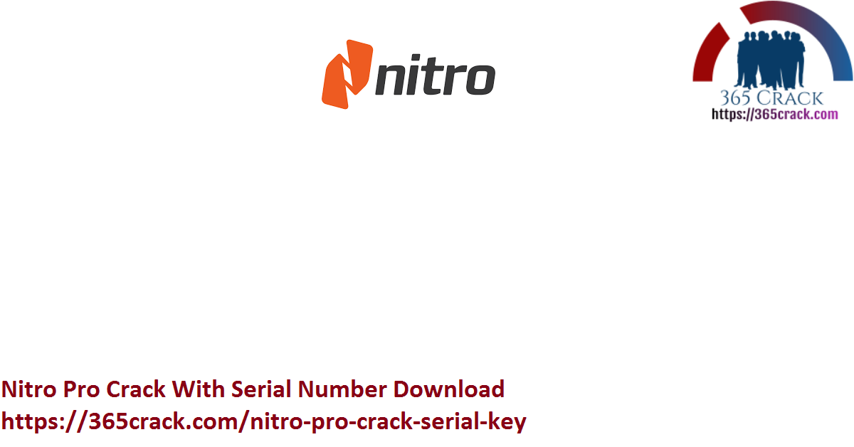 Nitro Pro Crack With Serial Number Download