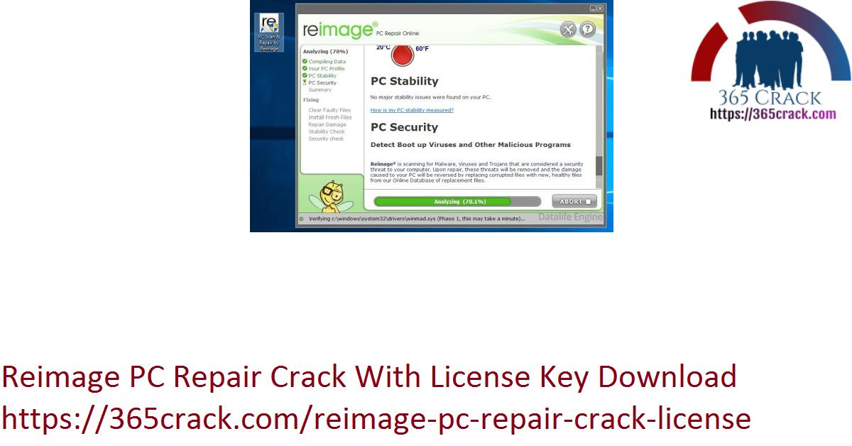 Reimage PC Repair Crack With License Key Download