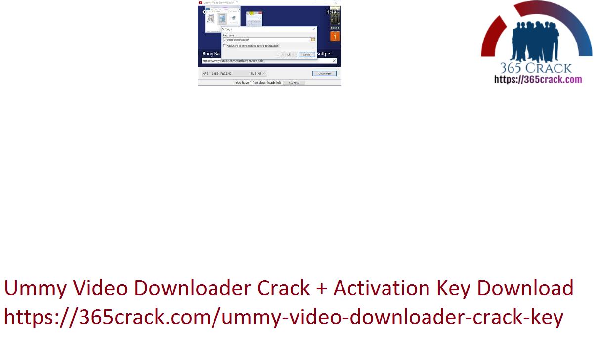 Ummy Video Downloader Crack + Activation Key Download
