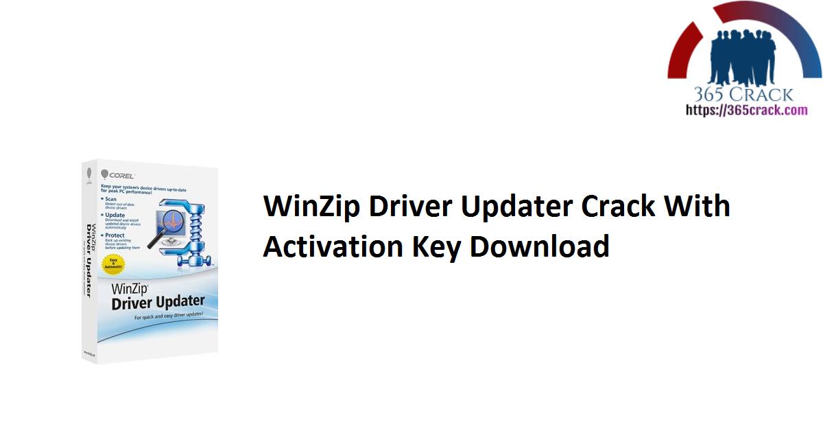 WinZip Driver Updater Crack With Activation Key Download