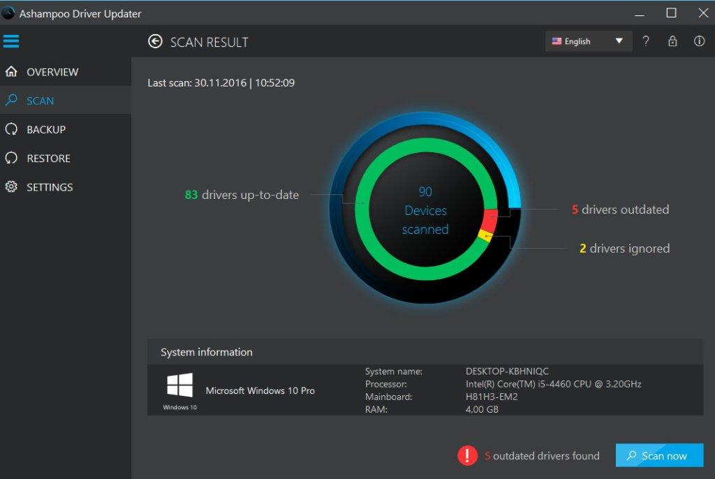 Ashampoo Driver Updater Crack With Registration Key Download