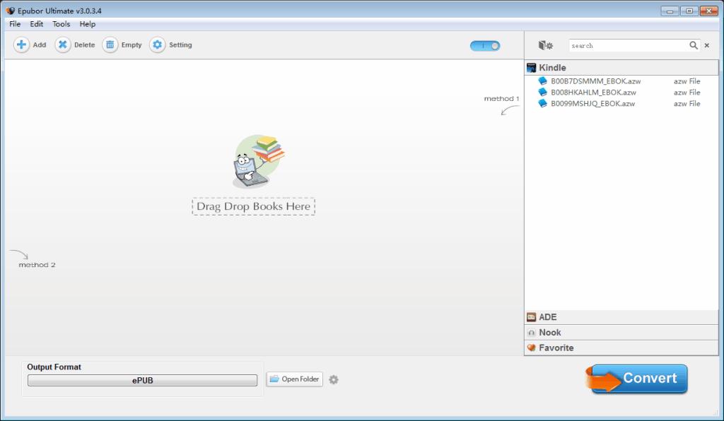 Epubor Ultimate Converter Crack With Serial Key Download