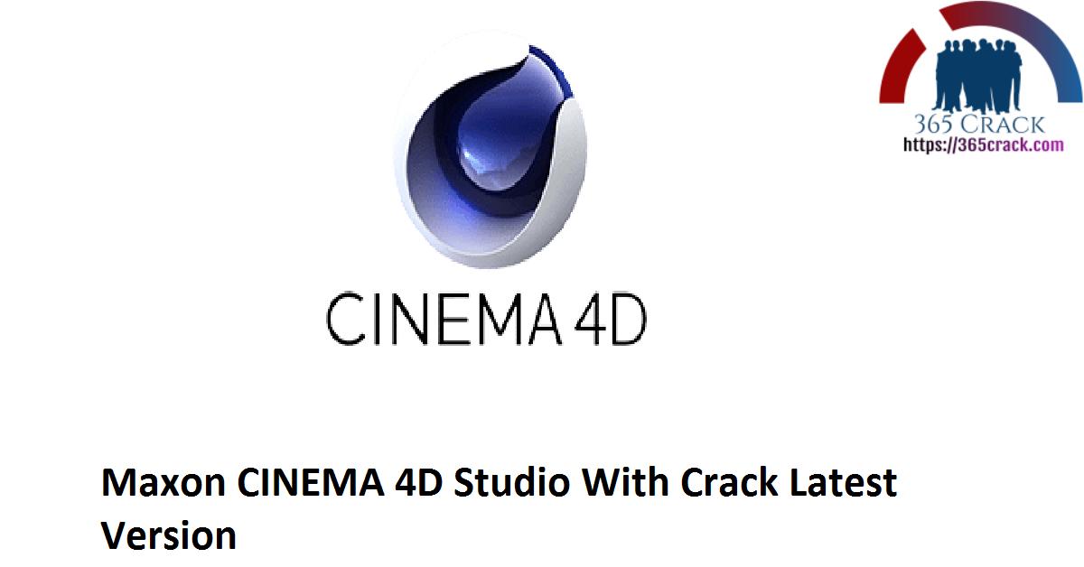 Maxon CINEMA 4D Studio R23.110 With Crack {2021}